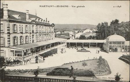 Martigny-les-Bains, Vue générale