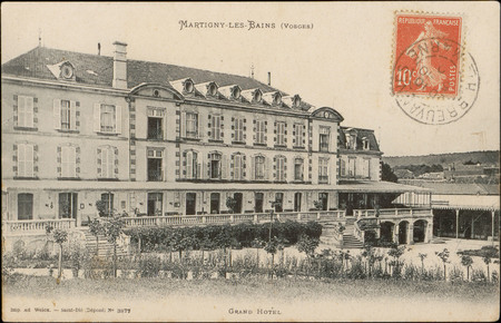 Martigny-les-Bains (Vosges), Grand Hôtel