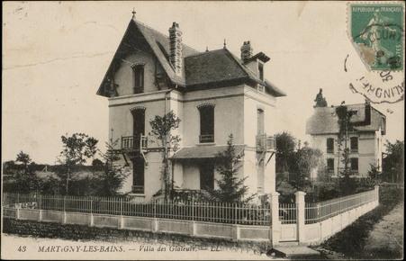 Martigny-les-Bains, Villa des Glaieuls