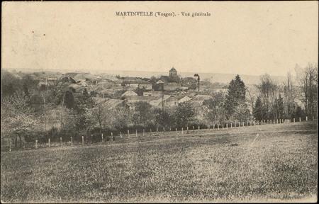 Martinvelle (Vosges), Vue générale