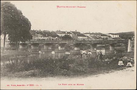 Mattaincourt (Vosges), Le Pont sur le Madon