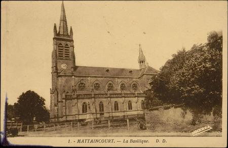 Mattaincourt, La Basilique