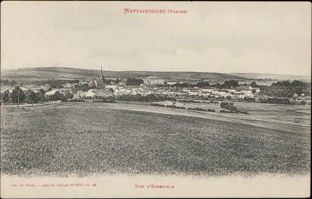 Mattaincourt (Vosges), Vue d'ensemble