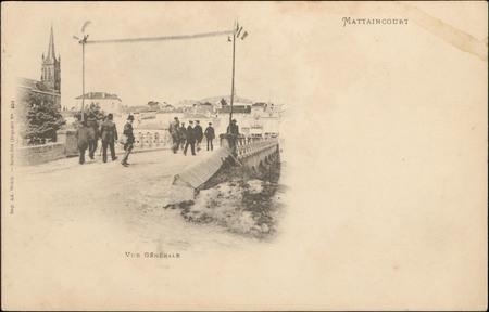 Mattaincourt, Vue générale