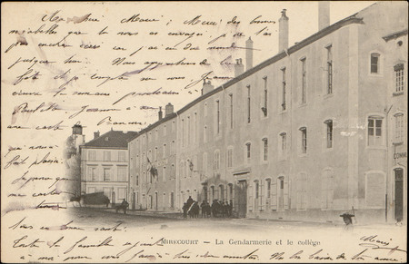 Mirecourt, La Gendarmerie et le Collège