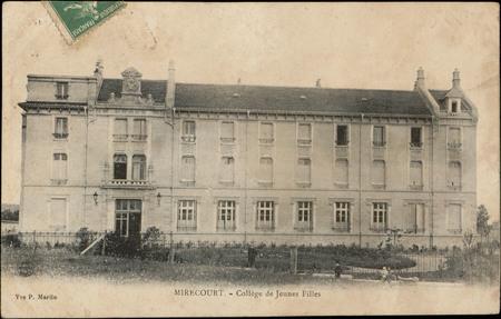 Mirecourt, Collège de Jeunes Filles