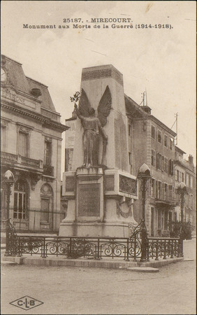 Mirecourt, Monument aux Morts de la Guerre (1914-1918)