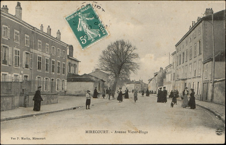 Mirecourt, Avenue Victor Hugo