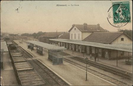 Mirecourt, la Gare