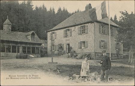 Maison forestière de Prayé par Moussey près de la frontière