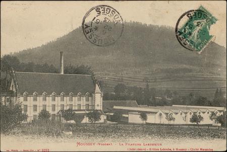 Moussey (Vosges), La Filature Laederich