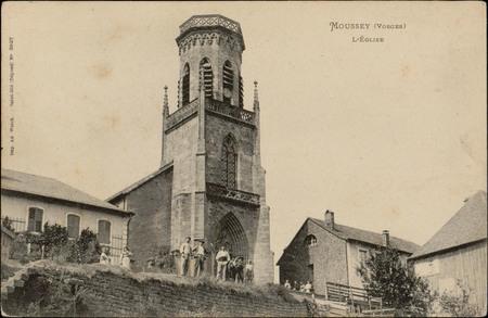 Moussey (Vosges), L'Église
