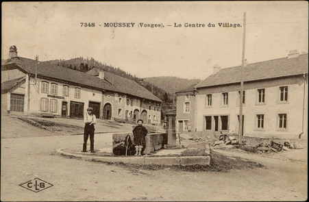 Moussey (Vosges), Le Centre du Village