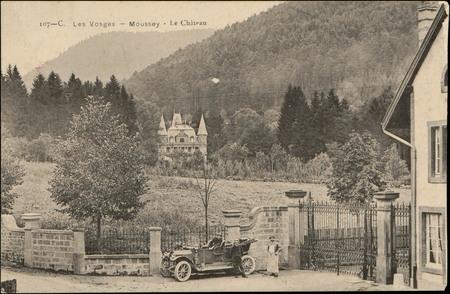 Moussey, Le Château