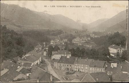 Moussey, Vue générale