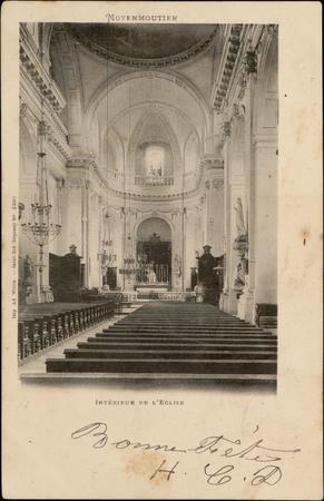 Moyenmoutier, Intérieur de l'Église