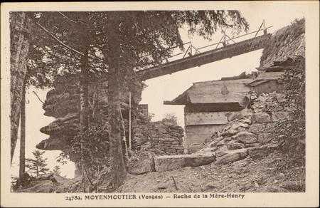 Moyenmoutier (Vosges), Roche de la Mère-Henri