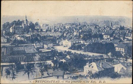 Neufchâteau, Vue générale (Côté Est)