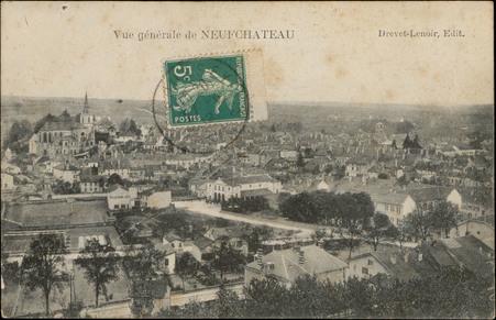 Vue générale de Neufchâteau