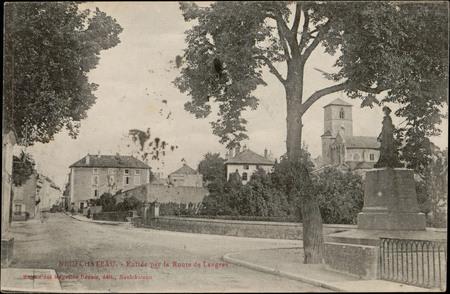 Neufchâteau, Entrée par la Route de Langres