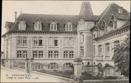 Neufchâteau, Collège de Jeunes Filles