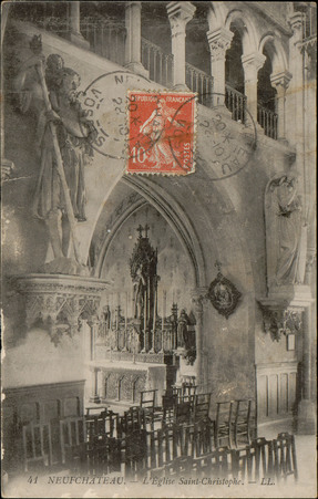 Neufchâteau, L'Église Saint-Christophe
