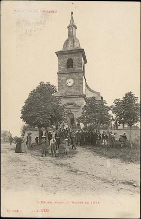 Nompatelize (Vosges), L'Église, avant la Guerre de 1914