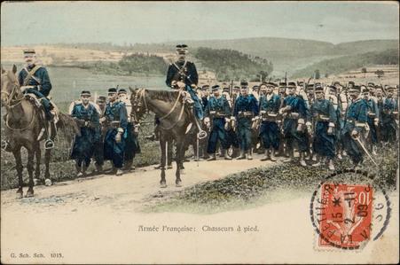 Armée française : Chasseurs à pied