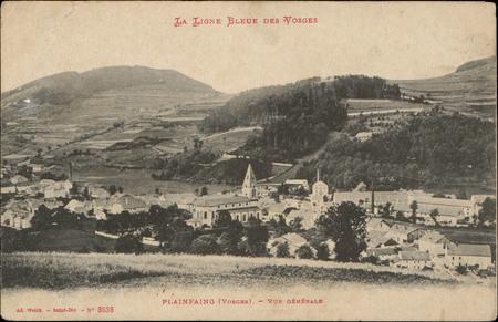 Plainfaing (Vosges), Vue générale