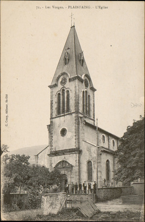 Plainfaing, L'Église