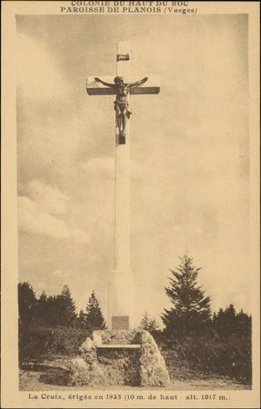 Colonie du Haut du Roc, Paroisse de Planois (Vosges), La Croix […]