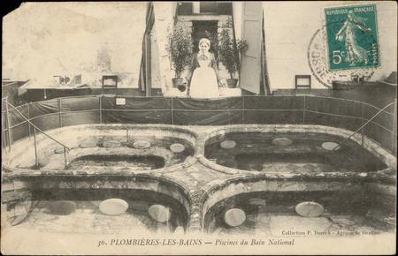Plombières-les-Bains, Piscines du Bains National