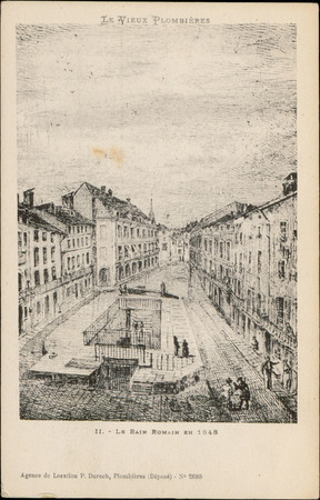 Le Bain Romain en 1848