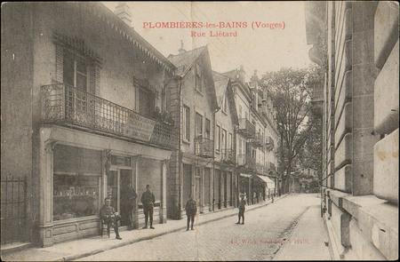 Plombières-les-Bains (Vosges), Rue Liétard
