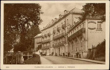 Plombières-les-Bains, Avenue L. Français