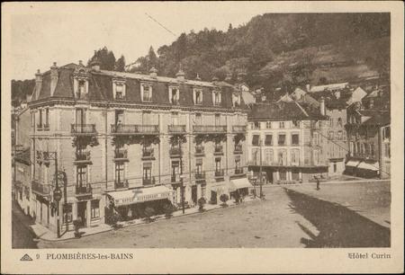 Plombières-les-Bains, Hôtel Curin