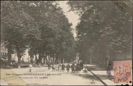 Plombières-les-Bains, Promenade des Dames