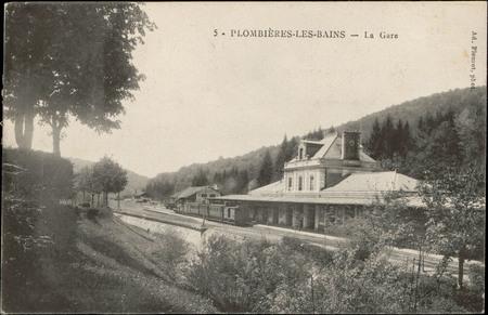 Plombières-les-Bains, La Gare