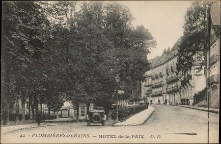 Plombières-les-Bains, Hôtel de la Paix