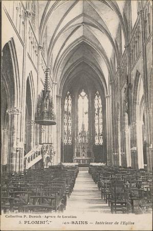 Plombières-les-Bains, Intérieur de l'Église