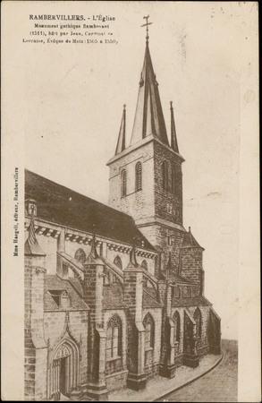 Rambervillers, L'Église […]