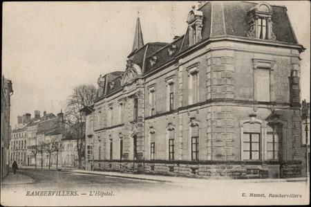 Rambervillers, L'Hôpital