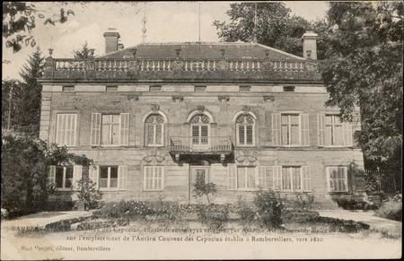 Rambervillers, Château des Capucins, construit entre 1792 et 1800 par Anto…