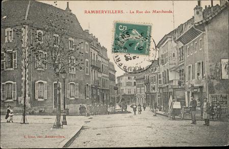 Rambervillers, La Rue des Marchands