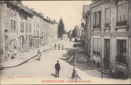 Rambervillers, Faubourg de Lunéville