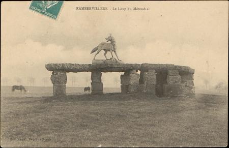 Rambervillers, Le Loup de Métendral