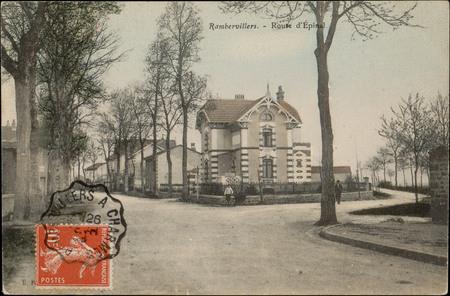 Rambervillers, Route d'Epinal