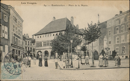 Rambervillers, Place de la Mairie