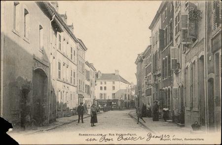 Rambervillers, Rue Victor-Petit