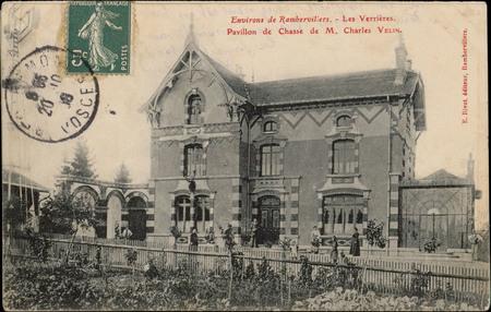Environs de Rambervillers, Les Verrières, Pavillon de Chasse de M. Charles…
